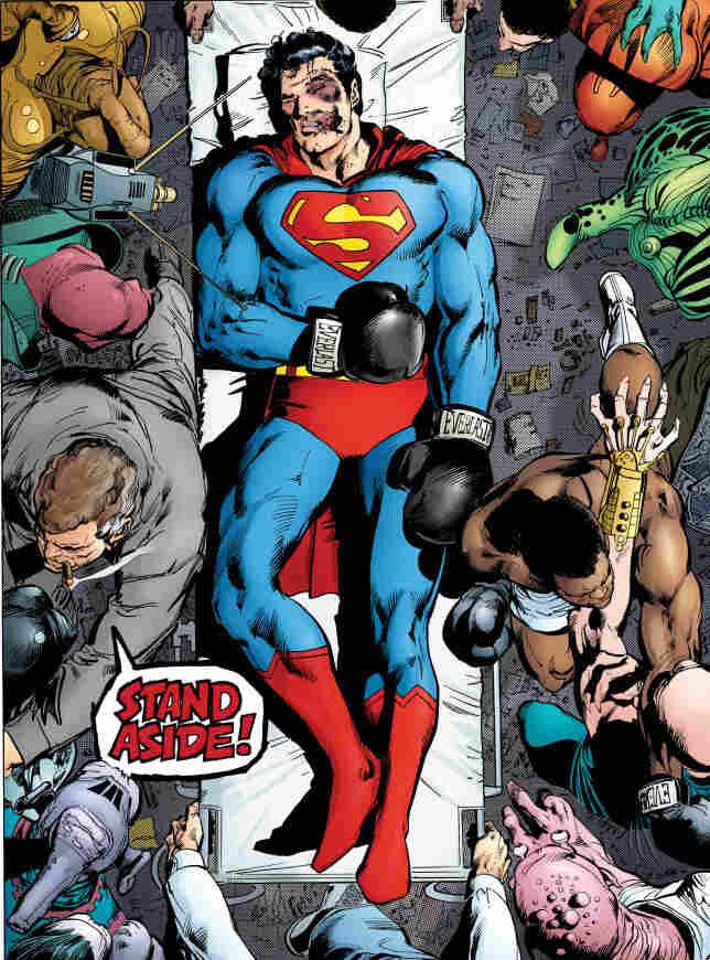 KO'd Superman
