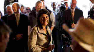 Gov.-elect Nikki Haley greets voters in Lexington, S.C.