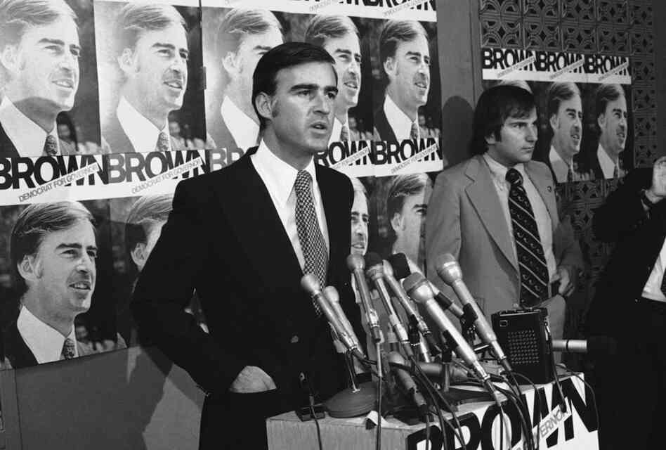 Jerry Brown has been re-elected to serve as California's governor, more than three decades after his earliest days in the governor's office. Brown won his first term in 1974.