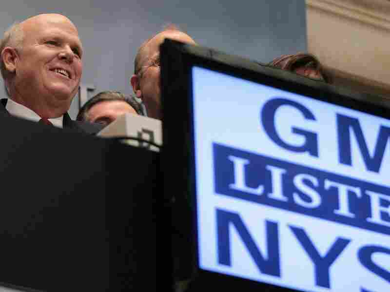 GM CEO Dan Akerson Rings Opening Bell At New York Stock Exchange