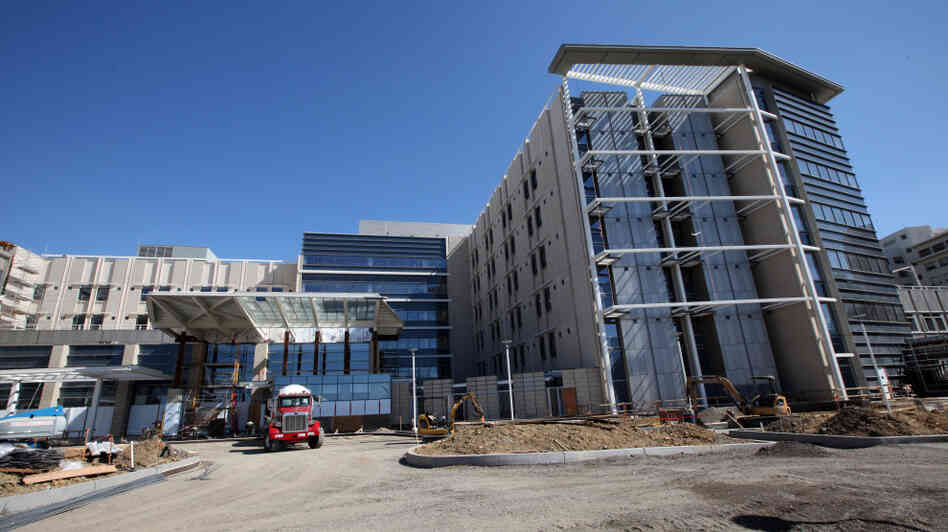The $618 million Mills-Peninsula Medical Center has three open-air gardens within the building.