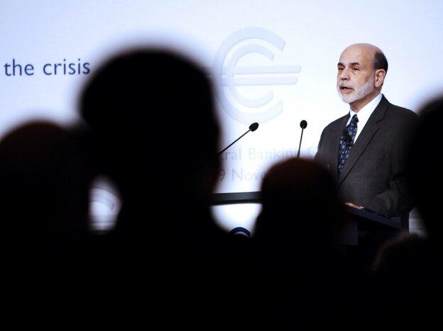 Ben Bernanke in Frankfurt