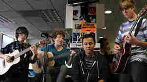 Love Tiny Desk Concerts? Check Out An Even Tinier One