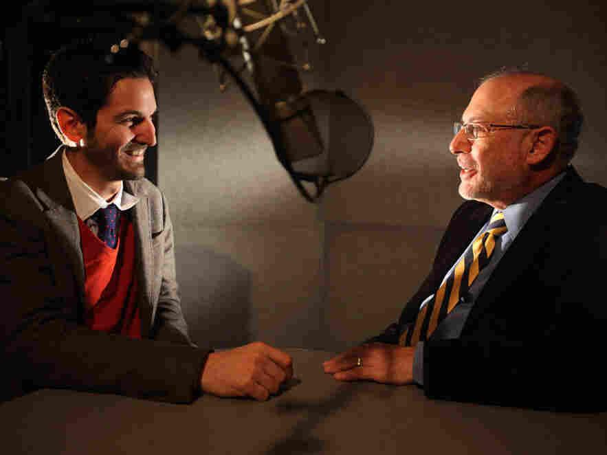 NPR's Guy Raz and Robert Siegel chat about Siegel's first days in radio.