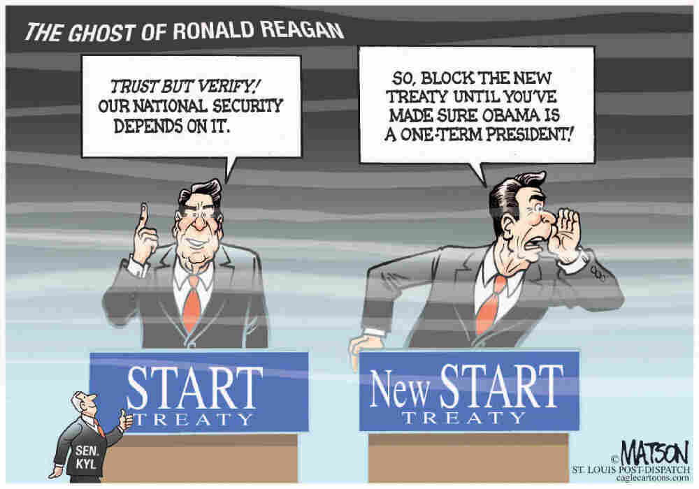 The Ghost Of Ronald Reagan