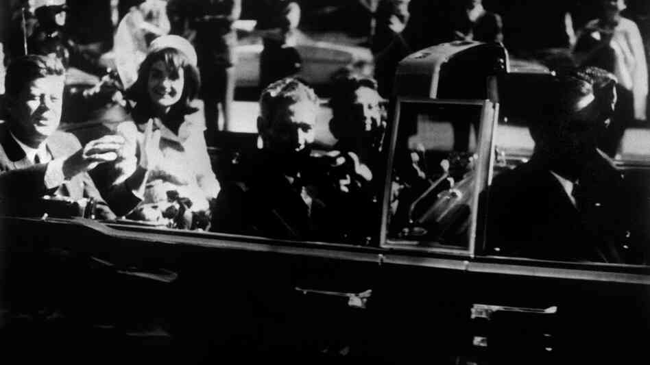 Nov. 22, 1963. om Dallas. Shortly before President Kennedy was killed.