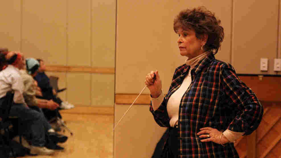 Paula Moore, interPLAY founder and conductor