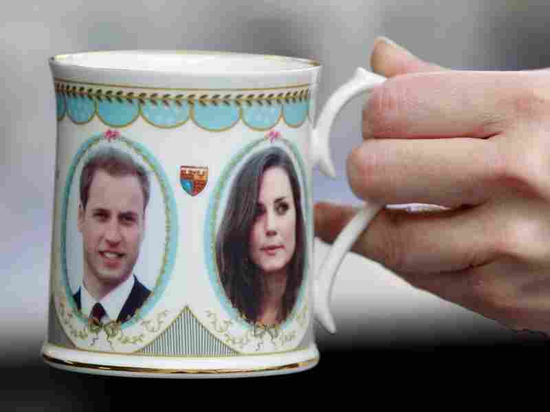 A china factory preares for the upcoming royal wedding in Britain.