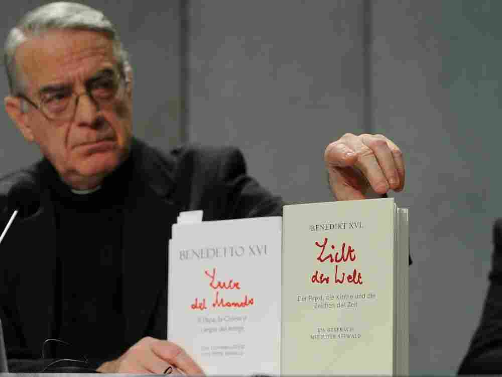The Vatican Spokesman Mgr Frederico Lomb