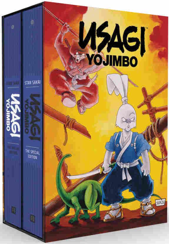 Slipcase of Deluxe Usagi Yojimbo