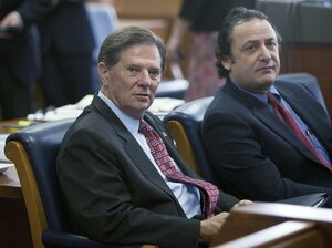 Former House Majority Leader Tom DeLay was convicted Wednesday on money laundering charges.