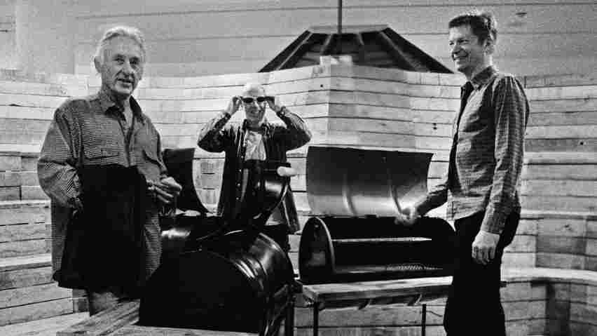 Ed Ruscha, David Breskin and Nels Cline