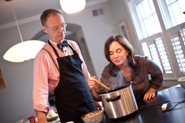 Chef Chris Kimball of <i>America's Test Kitchen</i> shows NPR's Renee Montagne some new twists on Thanksgiving classics.