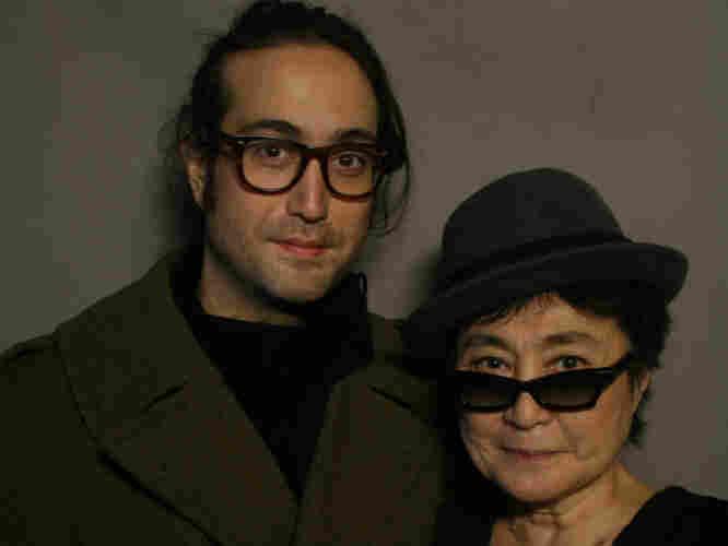 Sean Lennon and Yoko Ono.