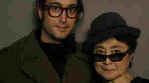 Sean Lennon and Yoko Ono.