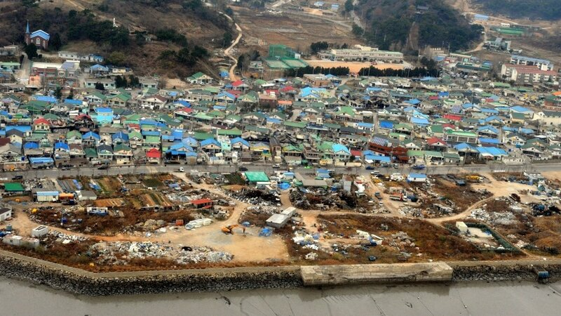 Two Civilians Killed By North Korean Shelling The Two Way Npr