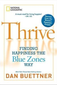 Thrive book cover by Buettner