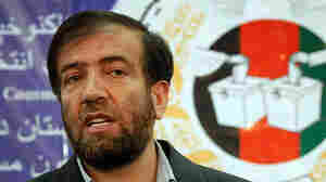 Afghanistan's Election Commission Chairman Fazel Ahmad Manawi speaks during a press conference