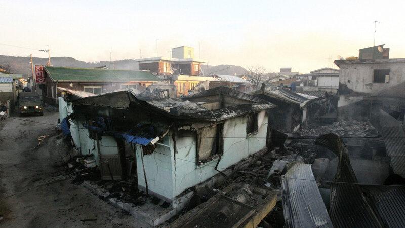Yeonpyeong Charred Desolate After N Korea Attack Npr