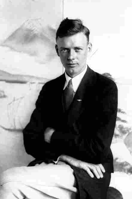 Aviator Charles Lindbergh: Airmail pilot.