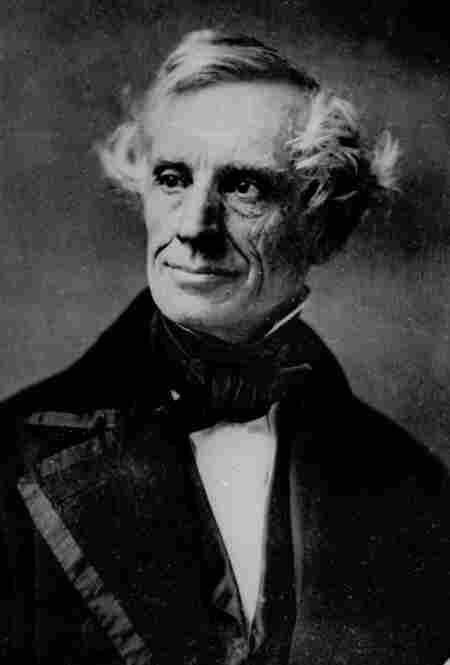 Inventor Samuel F. B. Morse: Superintendent, telegraph unit.