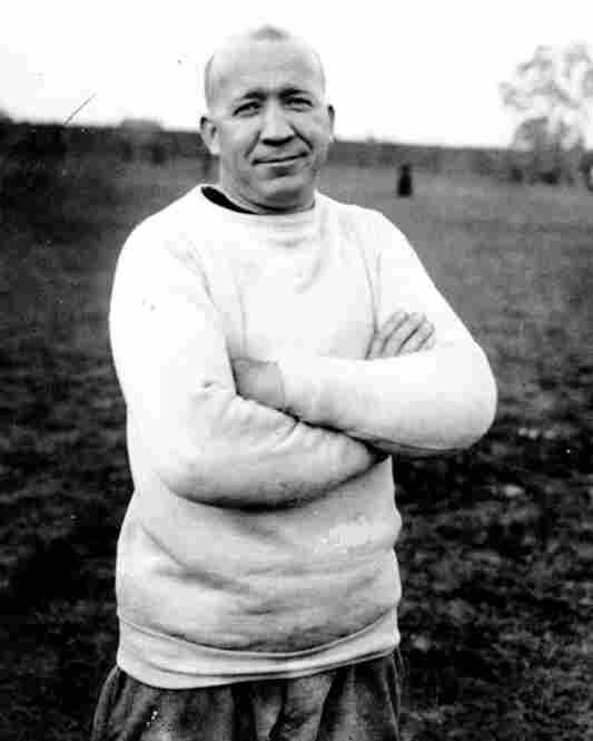 Football coach Knute Rockne: Clerk, Chicago.