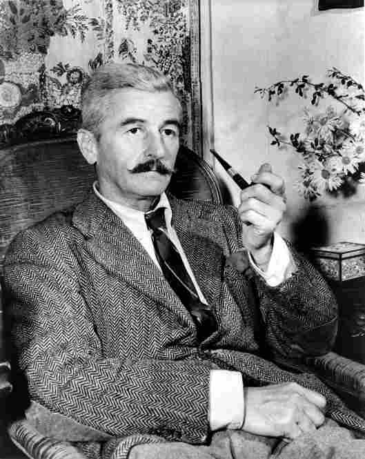 Novelist William Faulkner: Postmaster, University of Mississippi.