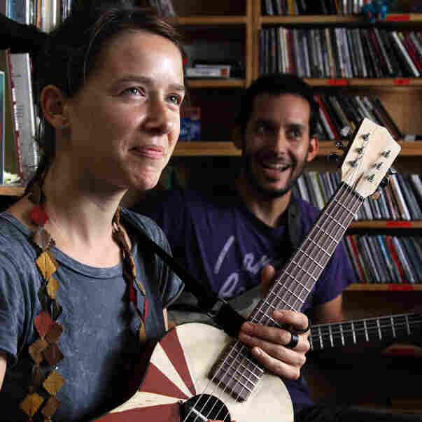 Buke And Gass: Tiny Desk Concert