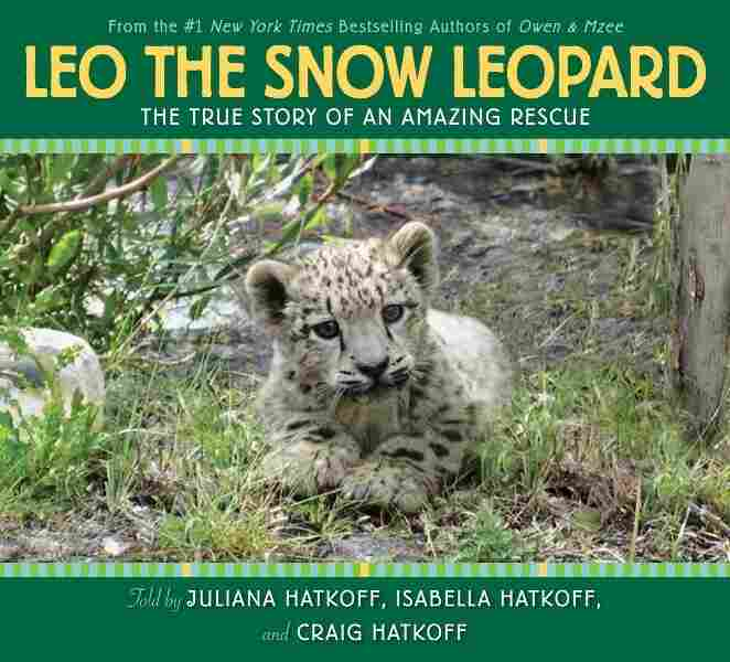 Leo the Snow Leopard book cover
