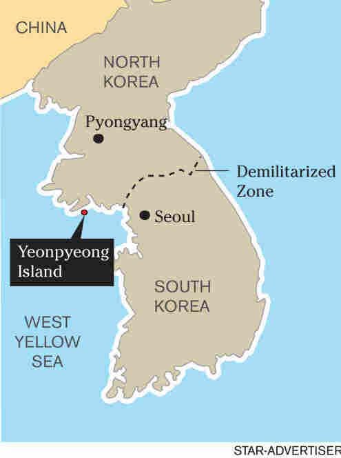 Yeongpyeong Island, South Korea