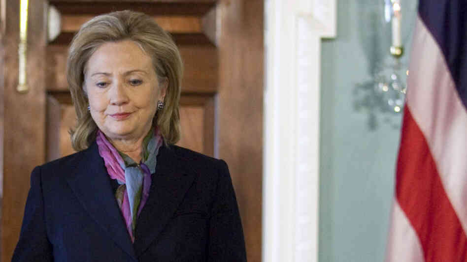 Secretary of State Hillary Clinton blasted the release of more than 250,000 confidential documents.