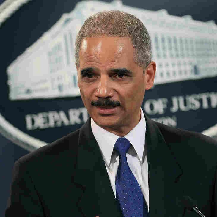 Attorney General Eric Holder, Nov. 29, 2010.