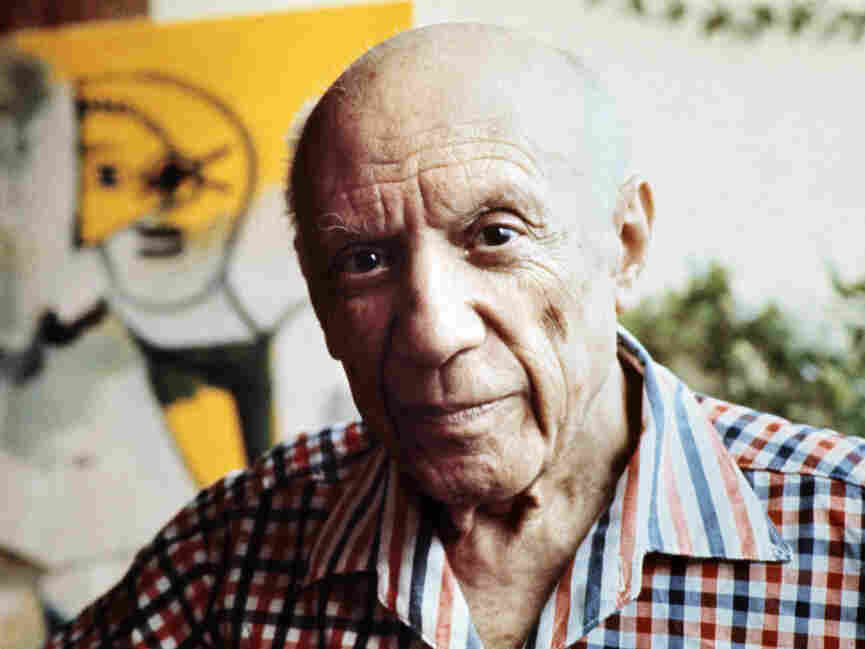 Picasso in October, 1971.
