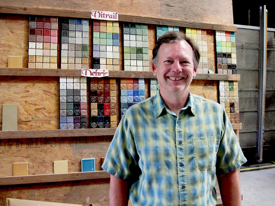 Paul Burns of FireClay Tile in Northern California