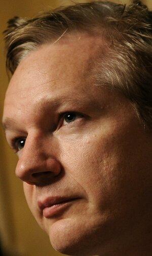 Nov. 4, 2010, file photo of WikiLeaks founder Julian Assange.