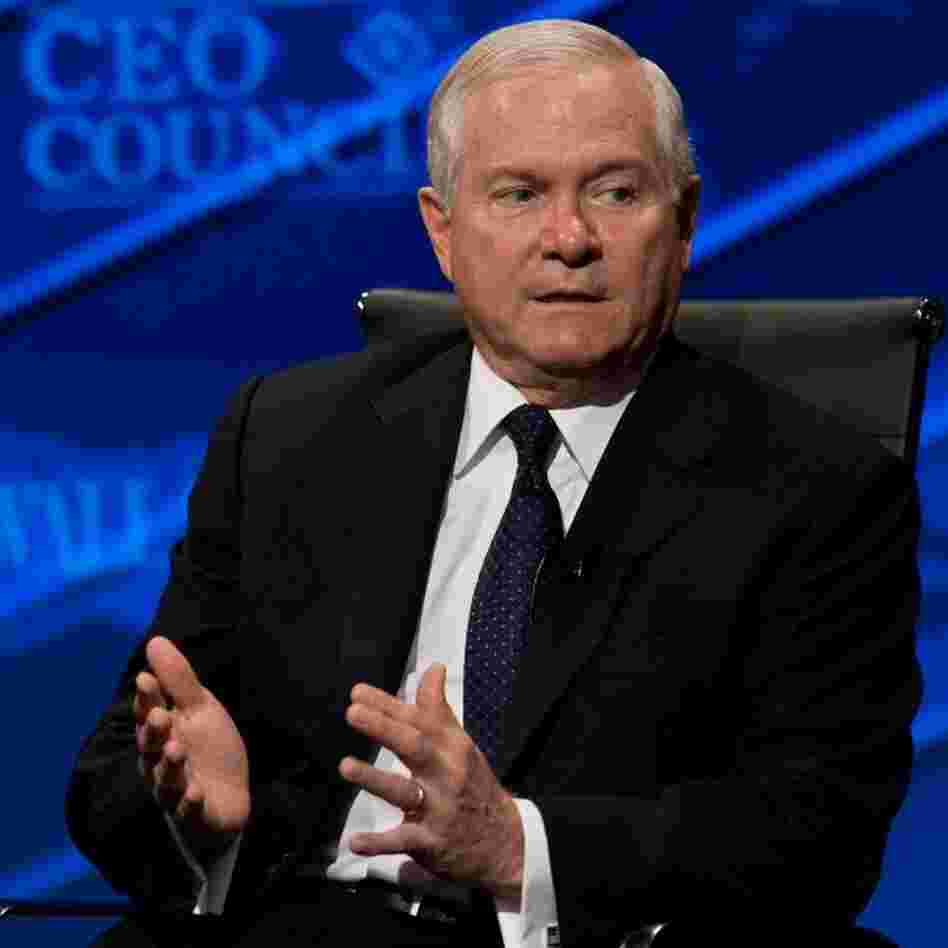 File photo: Defense Secretary Robert Gates, Nov. 16, 2010.
