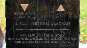 Don't Ask Don't Tell Repeal Activists Hold Vigil At Grave Of Vietnam Veteran