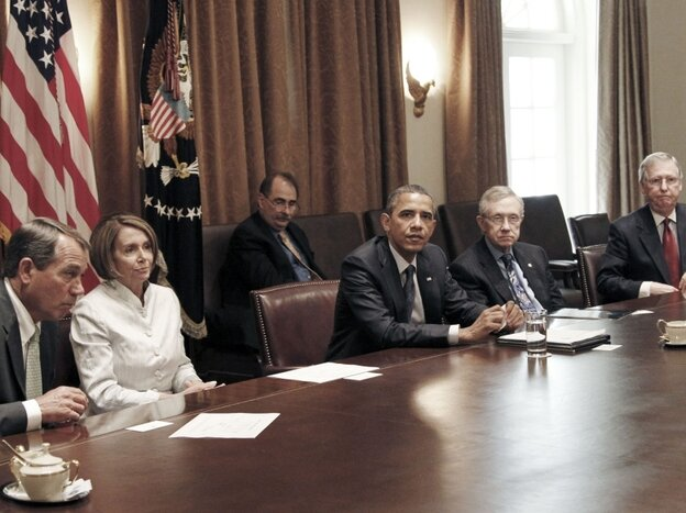 Obama in July 2010 meeting