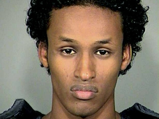 This photo released by the Multnomah County Sheriff's Office in Portland, Ore., shows bombing suspect Mohamed Osman Mohamud, 19, who was arrested Nov. 26.