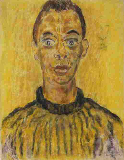 Beauford Delaney was associated with, although not necessarily in, various circles in New York City — he had African-American friends in Harlem, white gay acquaintances in Greenwich Village, where he lived, and contemporaries in the modernist art circles. James Baldwin, 1963