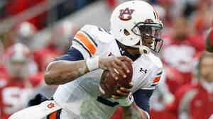 Auburn quarterback Cam Newton; Nov. 26, 2010.