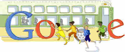 A special front for Google.com to mark the 55th anniversary of the Montgomery bus boycott.