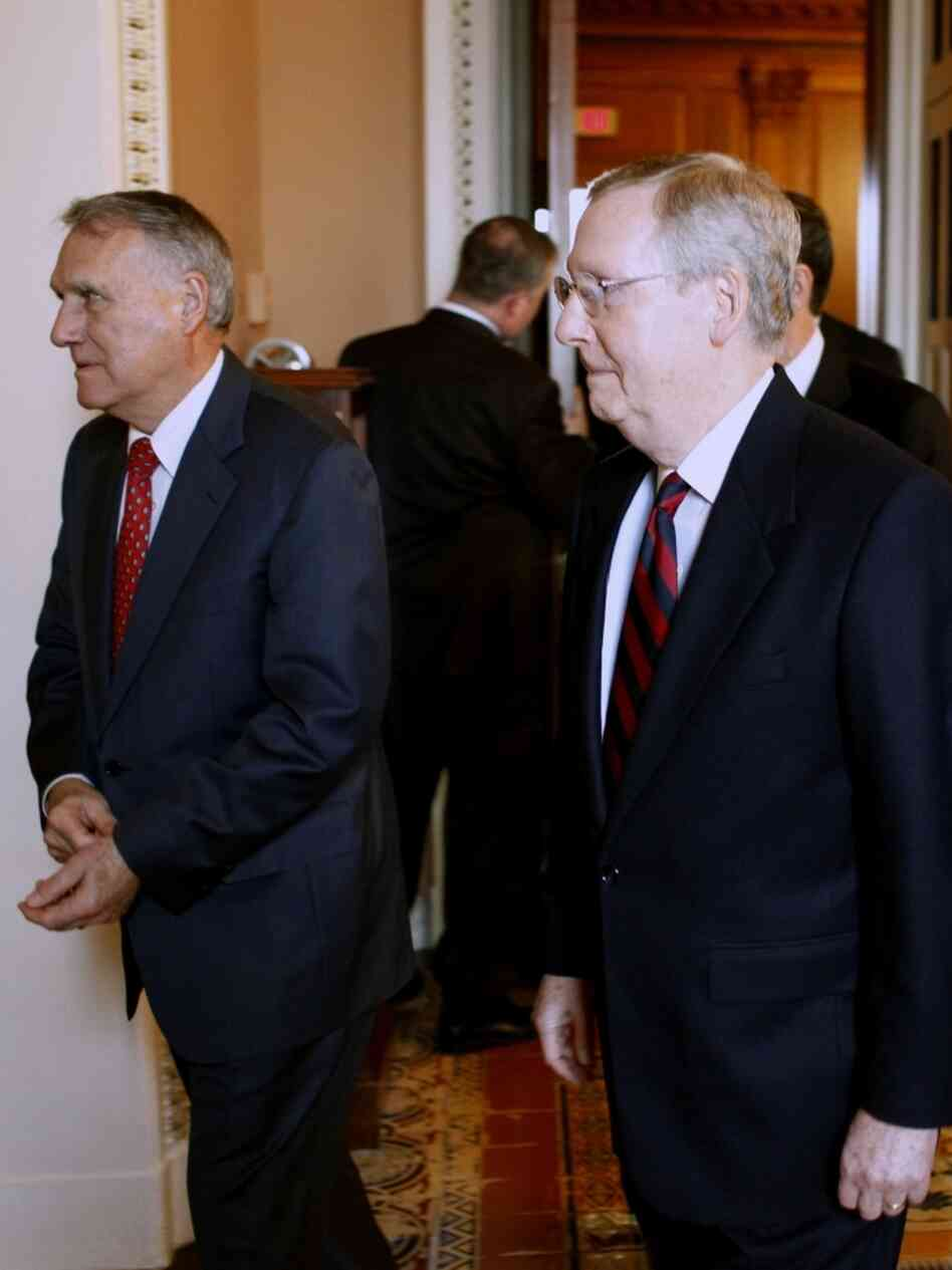 Sens. Mitch McConnell and Jon Kyl
