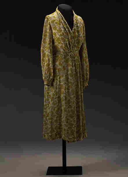 The dress that Rosa Parks was working on the day she refused to give up her seat to a white man.