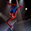 Spider-Man hangs over Manhattan