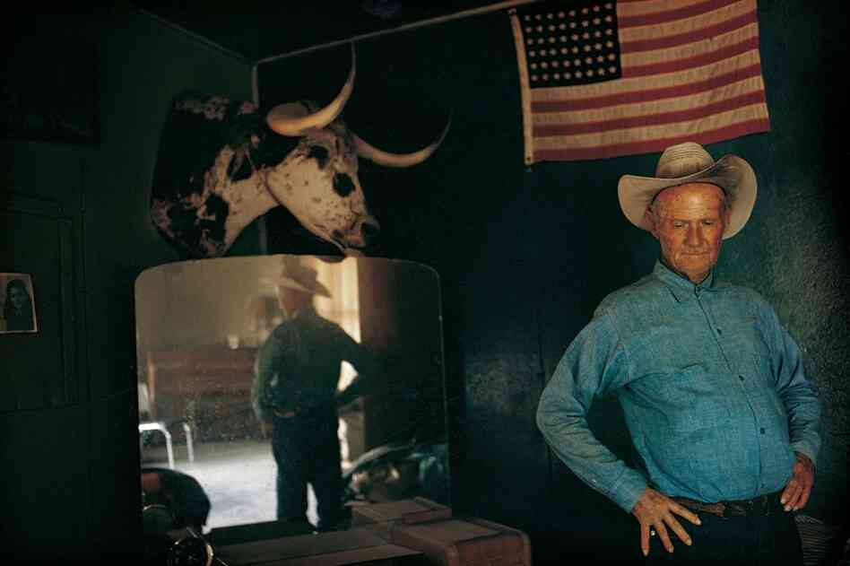 Henry Gray, rancher, Arizona, 1970