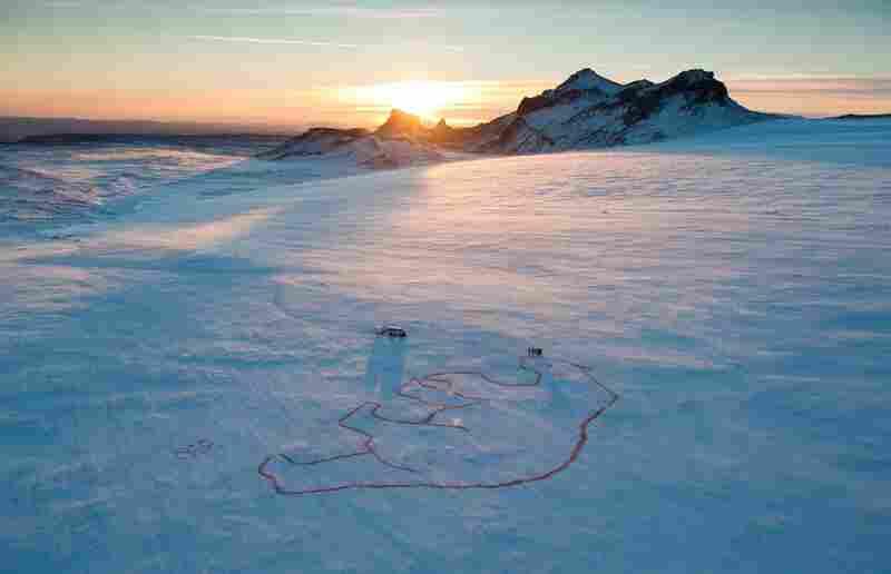 """Red Polar Bear,"" Iceland"
