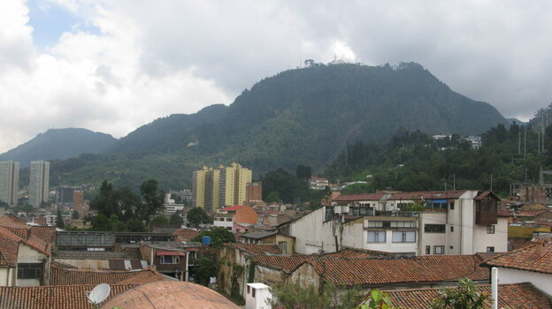 A view from Bogota