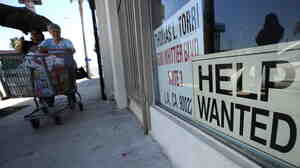 A beauty salon in East Los Angeles was looking for help in September.