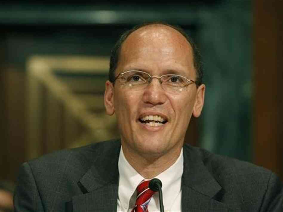 Thomas Perez, assistant attorney general for the civil rights division at the U.S. Department of Justice